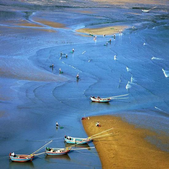 霞浦的海滩故事。郑德雄 摄