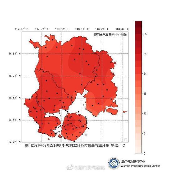 夏天到了?昨日福建多个气象观测站气温逼近30℃!