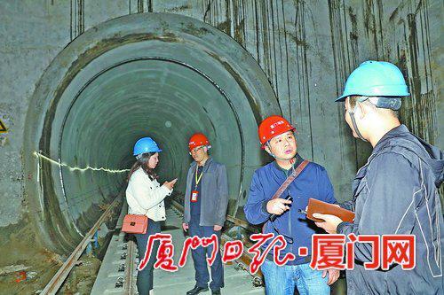 【攻克过海隧道段 厦门地铁2号线力争年底开通试运营】图1