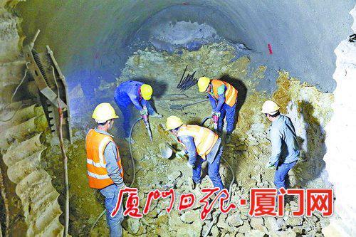 【攻克过海隧道段 厦门地铁2号线力争年底开通试运营】图3