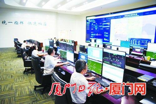 厦门电网率先开展泛在电力物联网示范建设。(陈泉峰 摄)