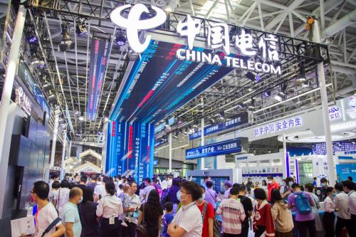 第三届数字中国建设成果展览会启幕 中国电信展台上演5G实力秀