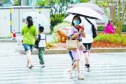 雨水送清凉 今起三天厦门有明显降雨