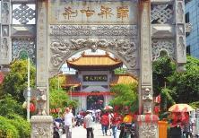 福州开元寺。