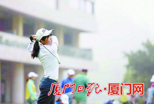 潘佳琦已经凭借打高尔夫球,被大学录取了。(图片由受访者提供)
