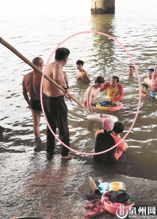 泉州17岁少年笋江桥下游泳溺水 七旬老伯挺身相救