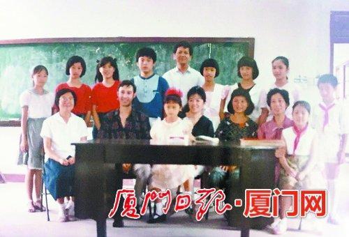 厦门市音乐学校的老照片。