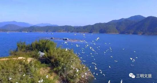 闽湖座落在福建省地理中心,
