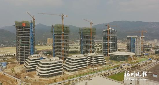 中国(福州)物联网产业创新发展中心初现雏形。