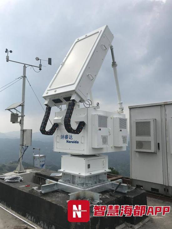 全省首个天气雷达网在福州试运行 气象预报更精准