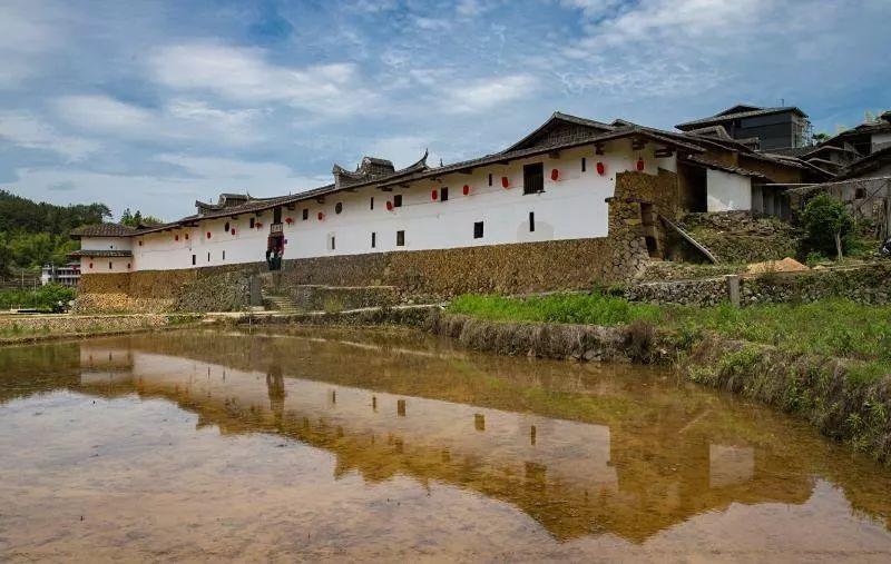 """福州庄寨爱荆庄,是中国古代""""女绅文化""""保存的孤本。 张培奋 摄"""