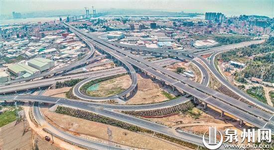 泉厦漳城市联盟路南安段基本完工 计划今年年内通车