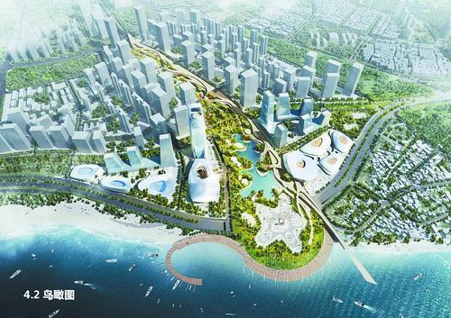 """■""""厦门之眼"""" 城市设计概念方案效果图"""