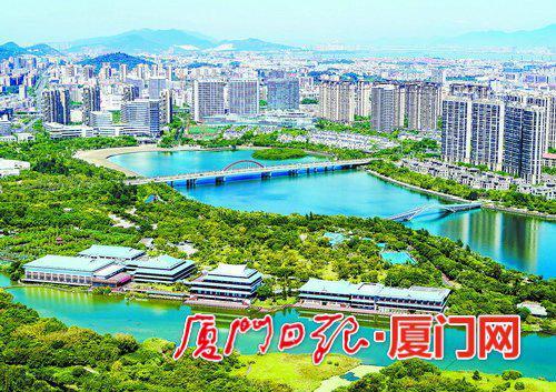 三个现代农业(总部)项目落户湖里,共享这里的绿水青山。(本报资料图)