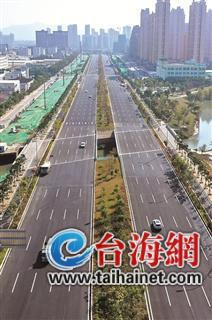 漳州北环城路西段主车道春节前通车