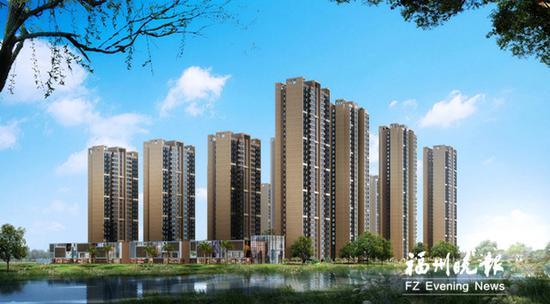 福州高新区一安置房项目全部封顶 可居住2186户
