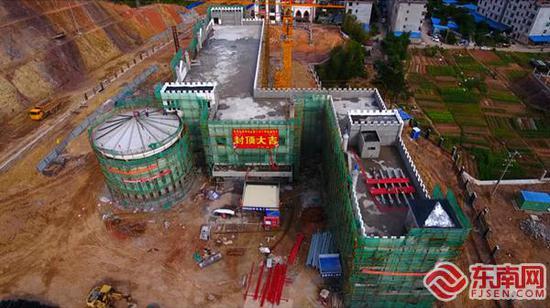 三明清流縣第三小學將于12月份完工交付