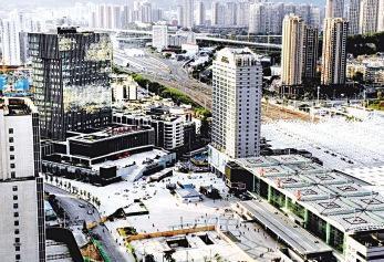福州火车站南广场品质提升工程已基本完工