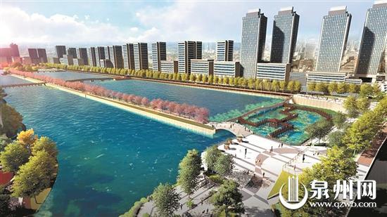 柳湖公园改造后效果图