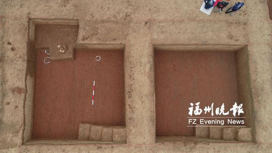 福建考古新发现首次披露 赤塘山现六朝至唐墓葬群