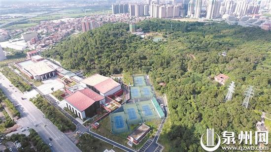 晋江八仙山全民健身中心目前已投入使用