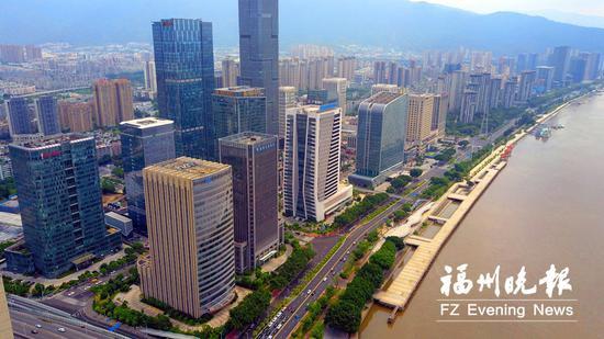 福建省福州市台江区上半年GDP增速全市第三