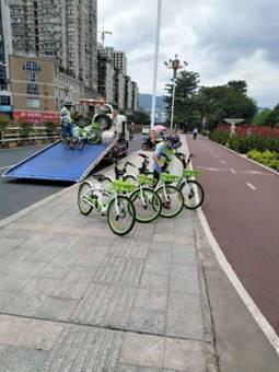 三明:顶骄阳 战酷暑 确保市民顺利用车