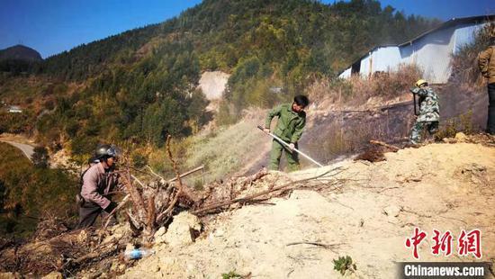 福建尤溪森林火灾已全部扑灭 未造成人员伤亡