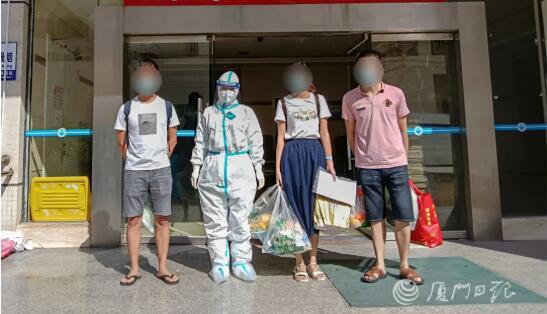 厦门第二批8例本土新冠肺炎确诊患者治愈出院
