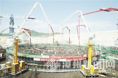 中核集团漳州核电项目开工 华龙一号将批量化建设