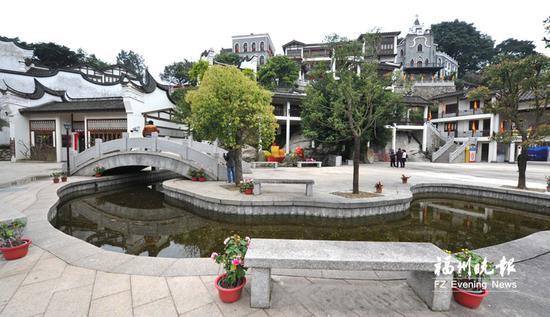 马尾船政文化广场。