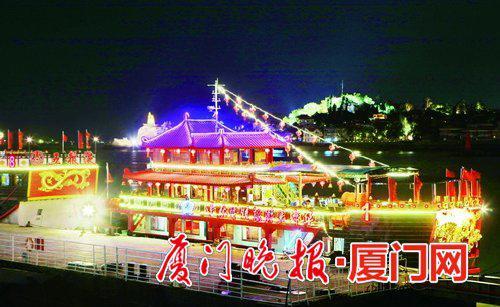 ■鹭江夜游