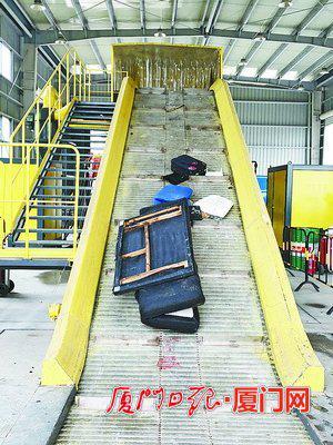 湖里区大件垃圾处理厂搬迁到马厝社,进一步为居民提供服务。