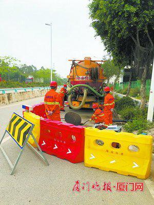 机器人当医生 厦门海沧排查整改1400多公里排水管网