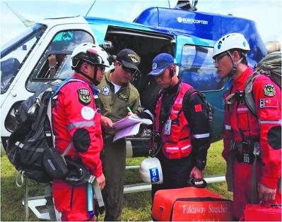 2016年4月,曙光救援队参与对南美洲厄瓜多尔地震国际救援,在联合国人道主义协调办公室的协调下出色完成了任务。