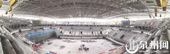 晋江市第二体育中心体育馆将承办世中运开闭幕式 (二体供图)
