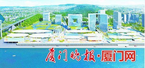 ■西海湾邮轮城及在建酒店效果图