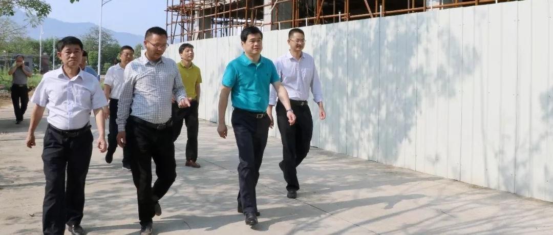 南靖县领导深入山城镇 推进大抓工业、抓大工业项目