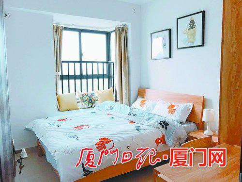 滨海公寓的样板房(图/厦门安居集团提供)