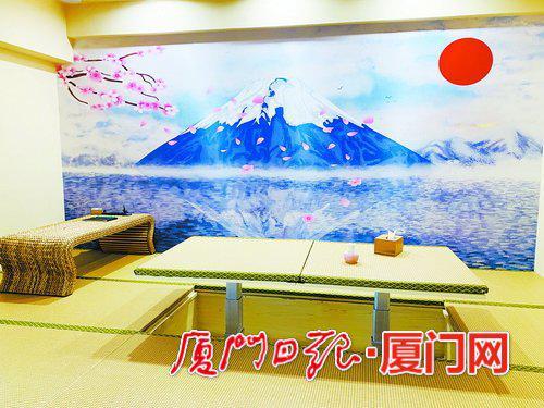 某剧本游戏体验馆的日式装修主题房。