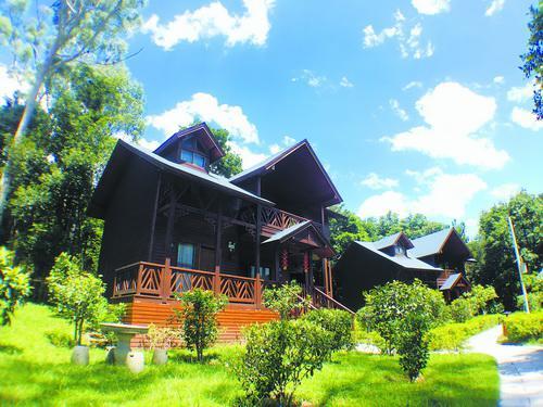 ▲金光湖小木屋。