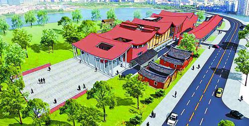海沧金沙书院重建工程开工 将建国际一流海丝人文地标