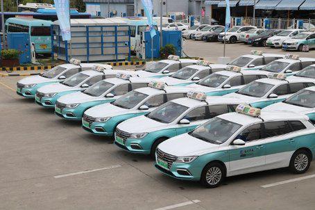 福州首次发布出租车车容车貌标准 引入新能源出租车队