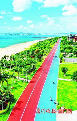 厦门岛外今年将建成三条慢行绿道 全长约3600米