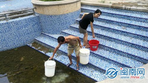 """台风""""米克拉""""致漳州市区12万居民停水"""