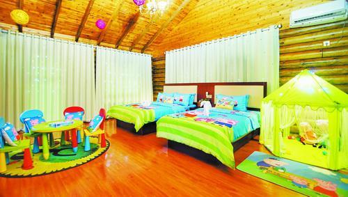 ▲金光湖新推出的亲子房。