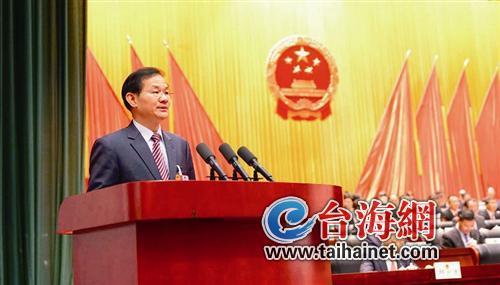 ◆龙岩市长林兴禄作报告时指出,2019年全市生产总值预期增长8%~8.5%