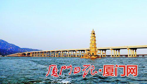 漳江湾特大桥横跨漳浦、云霄两县。