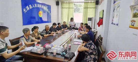 三明尤溪:夫妻离婚起纠纷 民警倾情促调解