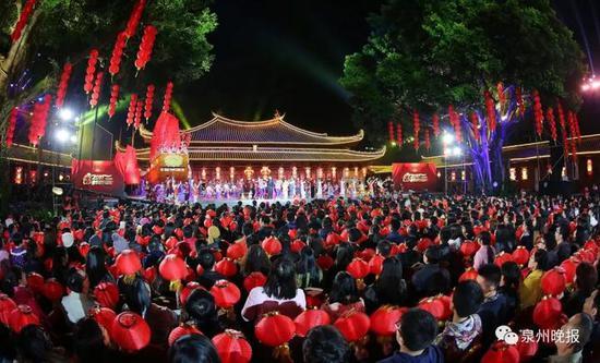 央视春晚曾在泉州府文庙设分会场(张九强 摄)